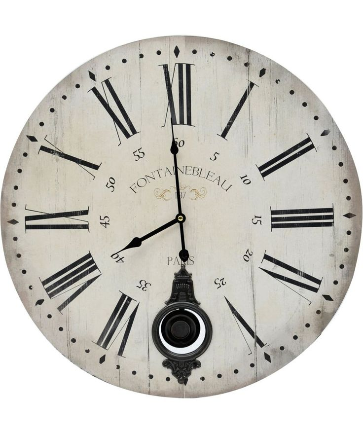 Buy Vintage Look Wall Clock - White at Argos.co.uk - Your Online Shop for Clocks. #ArgosRoomInspiration