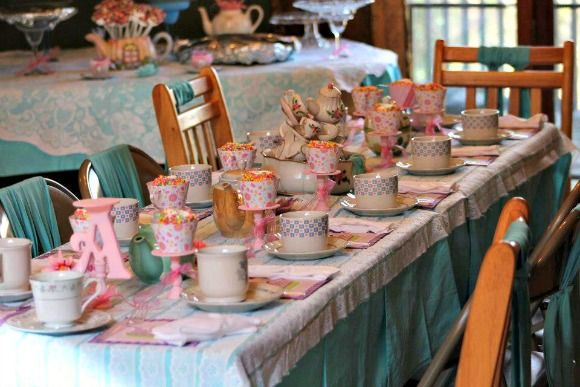 5 Year Old Birthday Girl Party Ideas Tea Party Birthday