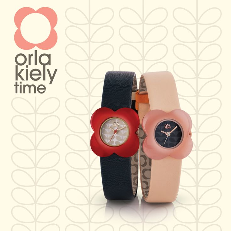 Discover the new Orla Kiely watches online at House of Watches: https://www.houseofwatches.co.uk/orla-kiely-watches/