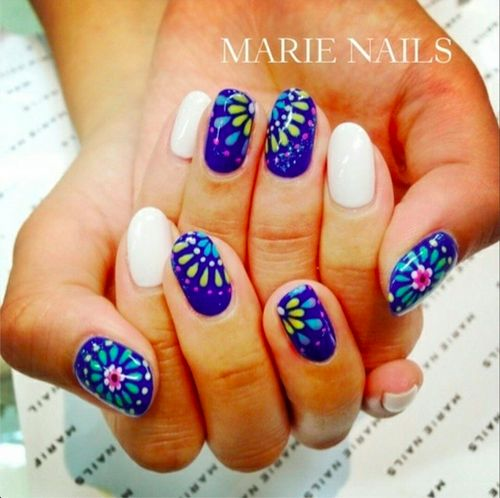 Mexican Nail Art Designs Ideas