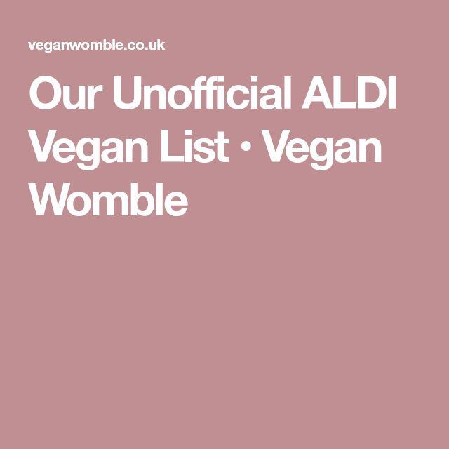 Die besten 25+ Aldi vegan Ideen auf Pinterest Whole foods vegan - aldi k chenmaschine testbericht