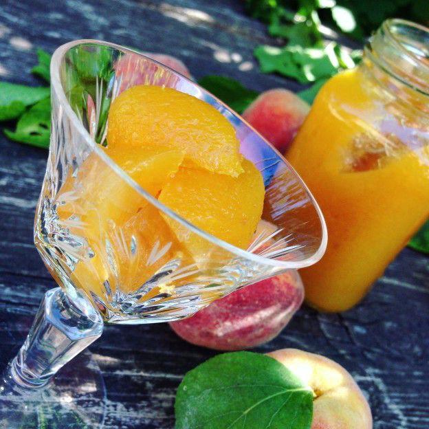 Персиковый конфитюр, рецепт