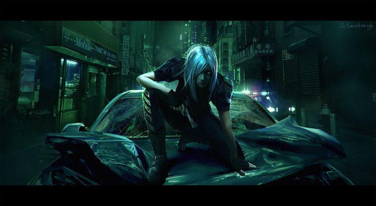 ArtStation - CyberPunk Movie Shots, Sergey Grechanyuk