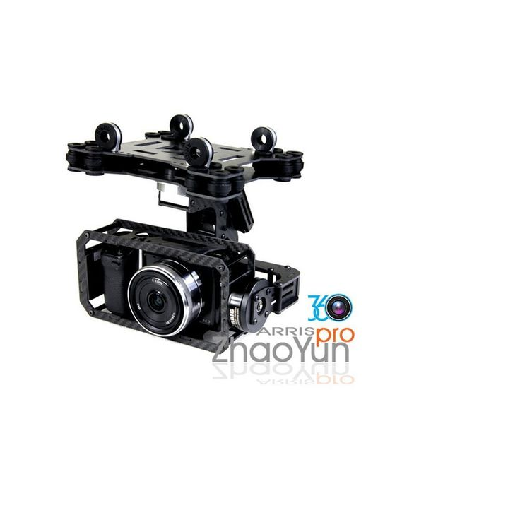 ARRIS ZHAOYUN PRO Micro DSLR 3-Axis Brushless Gimbal SBGC 32bit Version for FPV (Compatible with most DSLR&Gopro3). Please Note: for the AlexMose 32bit controller board, the current 2.41B4 version is the most stable one. We don`t suggest any personally firmware upgrade. ARRIS ZHAOYUN Pro is made of carbon fiber material. The weight is about 840g. It supports unlimited 360 degrees in pitch and yaw and 45 degrees rotation on roll axis. It is compatible with most CCHD and micro DSLR in the...