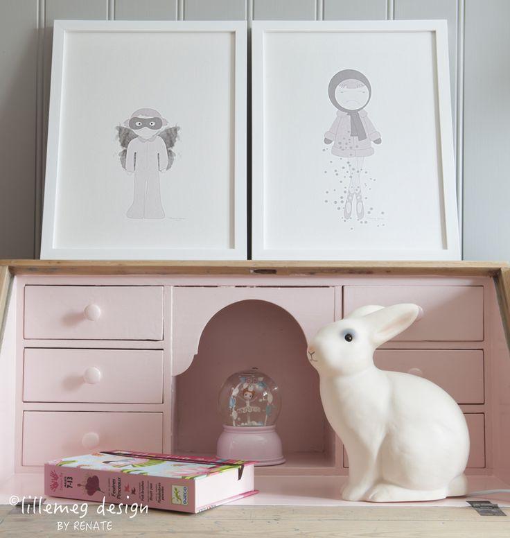 Søt plakat som vil skape magi på barnerommet / cute poster that ...