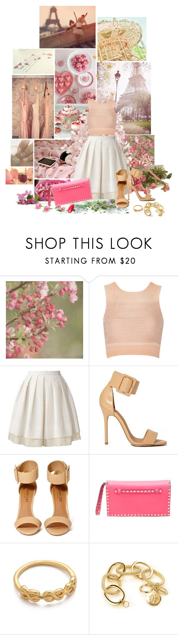 """""""This are a few of my favourite things"""" by littlemissnurse ❤ liked on Polyvore featuring Cotton Candy, Ladurée, Jonathan Simkhai, Orla Kiely, Shoe Cult, Valentino, Gorjana and H&M"""