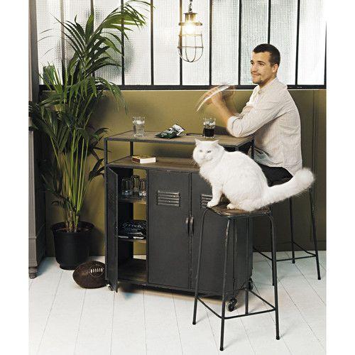 17 migliori idee su mobili in stile industriale su for Bar stile industriale