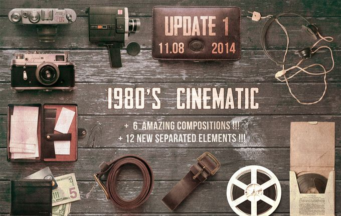 On the Creative Market Blog - 15 Unbelievably Awesome 1980s Design Resources
