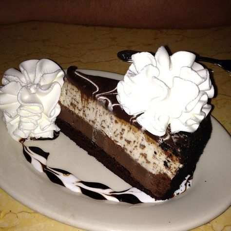 Cheesecake Factory Restaurant Copycat Recipes: Chocolate Tuxedo Cheesecake