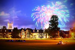 fireworks may ball johns college cambridge summer