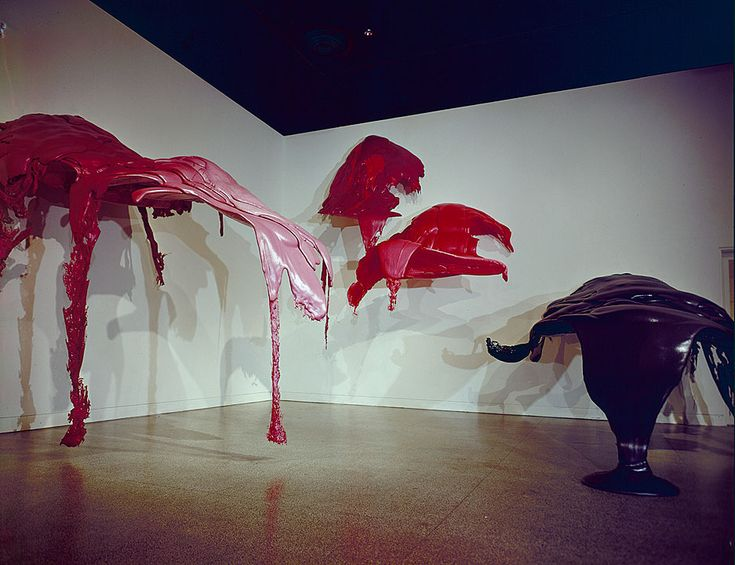 Lynda Benglis, Totem (1971)   www.artexperiencenyc.com