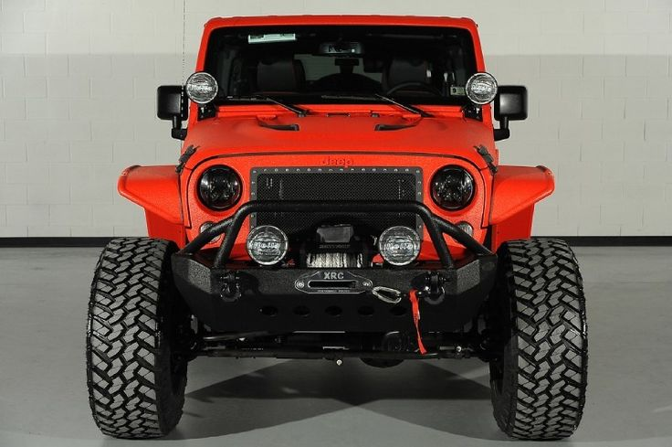 Lift Kits For Jeeps >> 2014 Jeep Wrangler Unlimited with Bushwacker Flat-Style Fender Flares: Custom Front Bumper ...