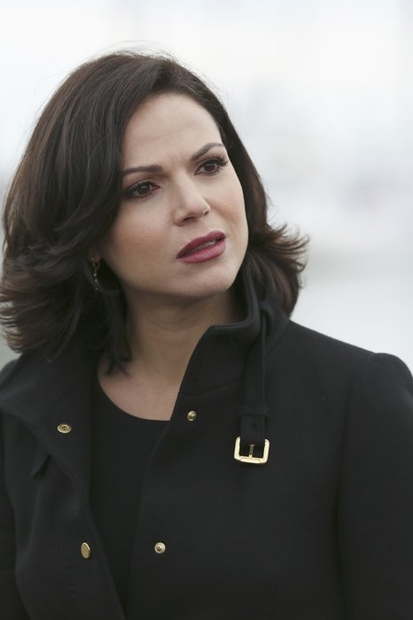 Lana Parrilla, Regina/the Evil Queen in Once Upon a Time. She is one of my favorite characters in the story: she is evil but has a good streak on her which makes her a complex, interesting character. Every story has their good characters and their bad, but not all stories have double crossing characters that keep you on the edge the entire time like Regina