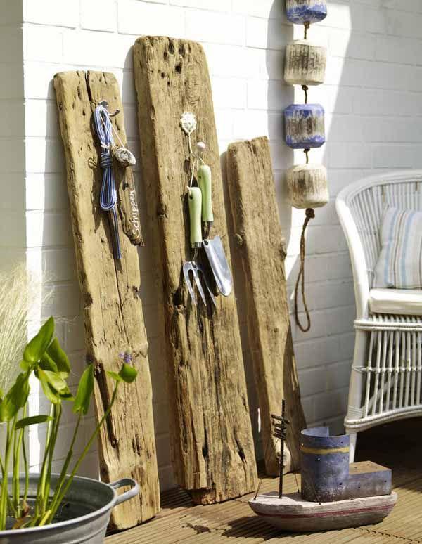 108 besten Beach Garden Bilder auf Pinterest Holz, Garten ideen - gartendekoration aus holz