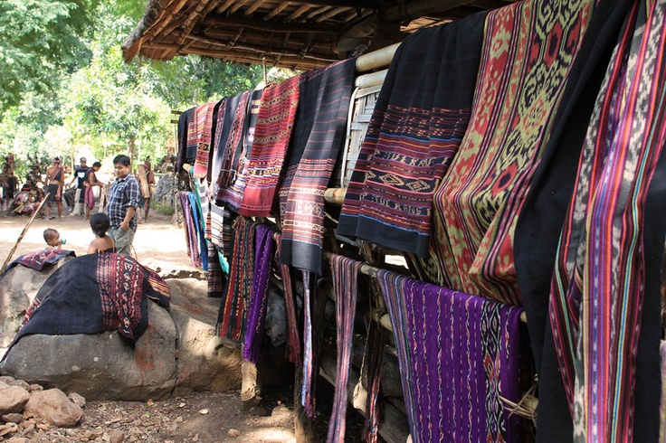 Here is lines of traditional woven fabrics from Takpala Village which are various in colors and motifs. The fabric is made from cotton thread and natural dyes; it usually takes more than 1 month long to produce or weave a single fabric. The price might be a little expensive but this beautifully woven fabric is worth that cost.