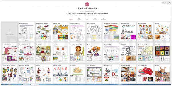 Librairie-Interactive - Des milliers de ressources pour la classe