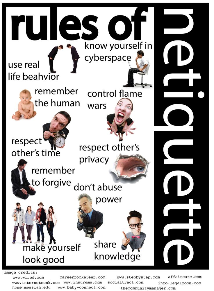 Internet dating etiquette guidelines