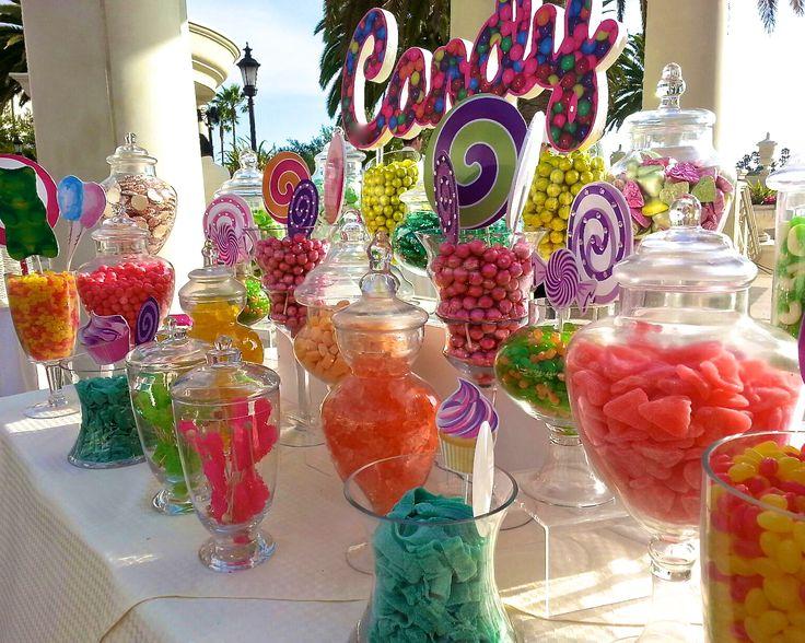 Candyland Themed Birthday Invitations