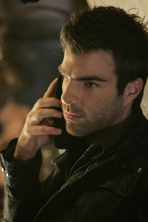 """Zachary Quinto!"" No, that's 100% Sylar. There's no Zach left in there.  LMBO ^^^"