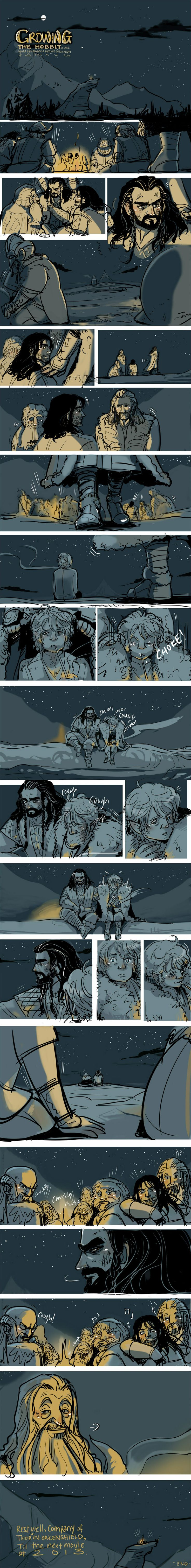 The Hobbit: Growing by ~applepie1989 on deviantART  Rest well, company of Thorin Oakenshield.
