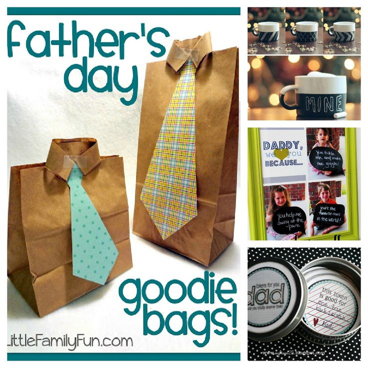 Father's Day Homemade Gift Ideas to make with the kids