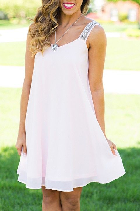 Pink For Yourself Dress