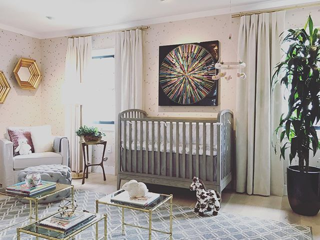 Delightful Nursery For The Baby Daughter Of Jeff Lewis And Partner Gage Edwards.
