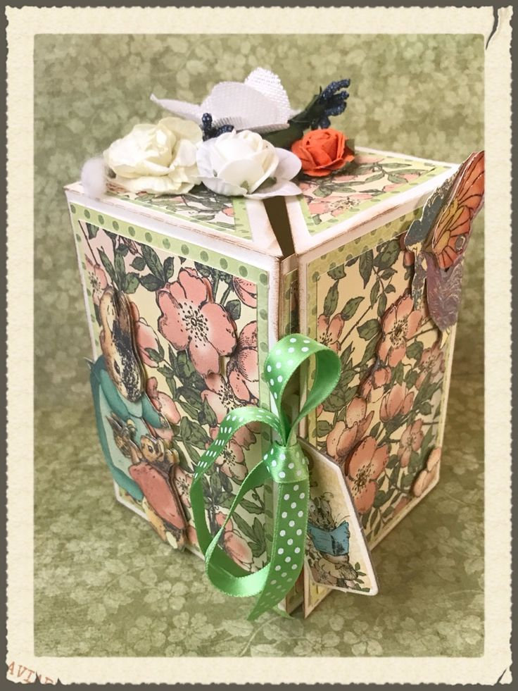 Box Secret con Graphic 45 Once Upon A Springtime