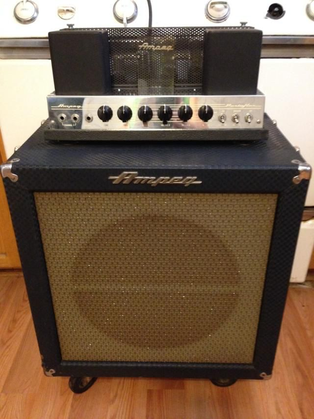 1962 Ampeg Portaflex Bass AmplifierThis is a very nice surviving example of a vintage It is one of the nicest that I have ever seen.
