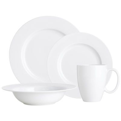 Luminous Porcelain White Dinnerware  sc 1 st  Pinterest & 312 best Dinnerware/Placemats images on Pinterest | Dish sets ...