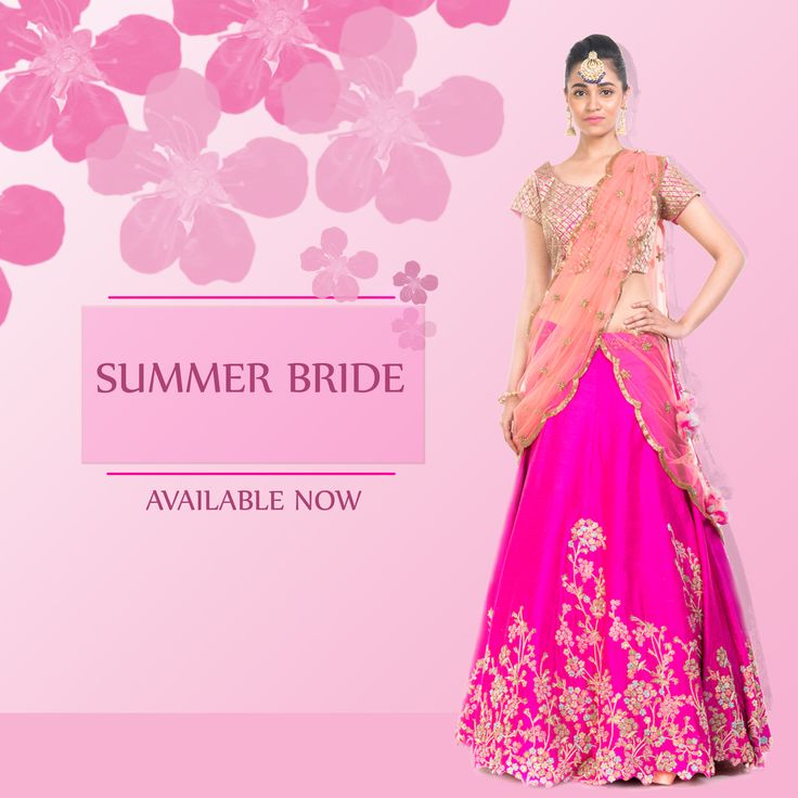 Summers Biggest Colour Trend! Indulge yourself in this glamorous Rani-Peach Lehenga from our Summer Bride Collection!! visit: http://www.smritiapparels.com/c/49 for more such lehengas, perfect for your Summer Weddings!! #weddings #summerweddings #designerwear #exclusivedesigns #smritipretandcouture #anjuagarwal #anushreeagarwal #bridalwear #shopnow #onlineshopping #gopink #summerbride #lehenga_choli_online #bridallehenga #designer_wedding_lehenga
