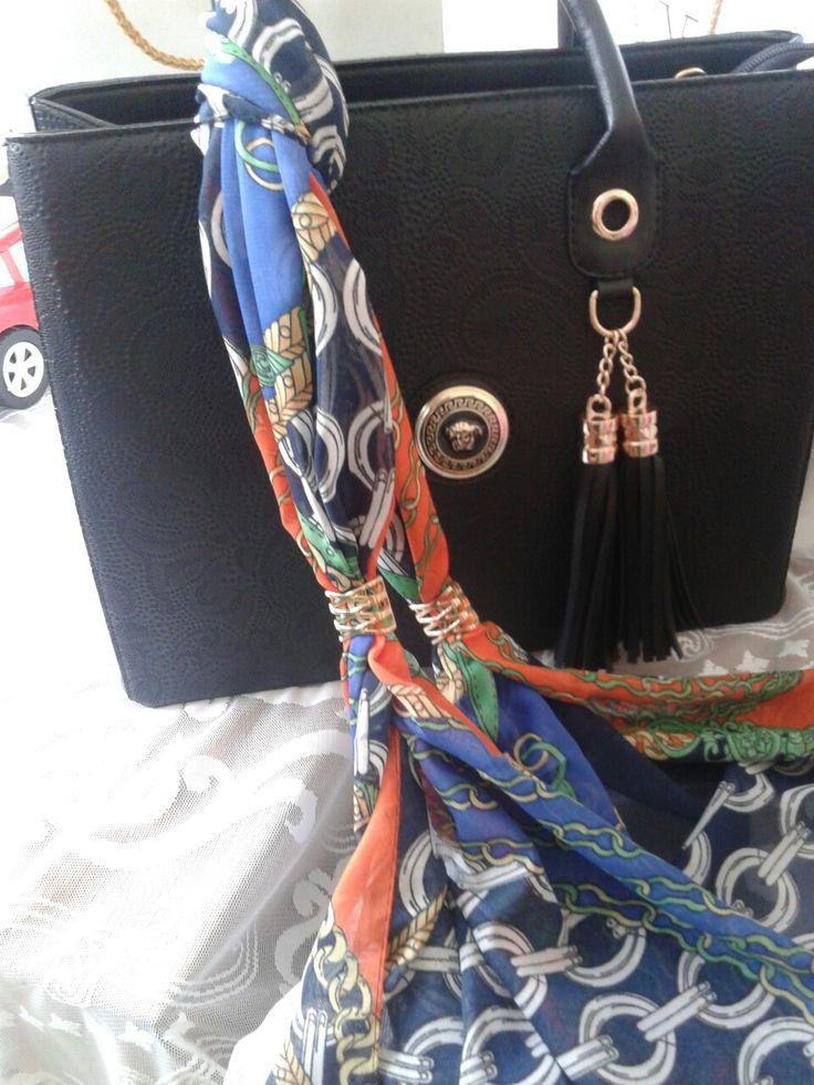 Versace çanta ve fular
