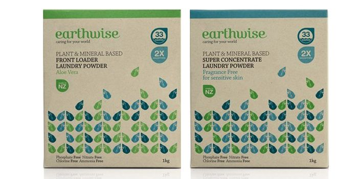 BRR Ltd., out of Auckland New Zealand revamped this packaging for Earthwise…