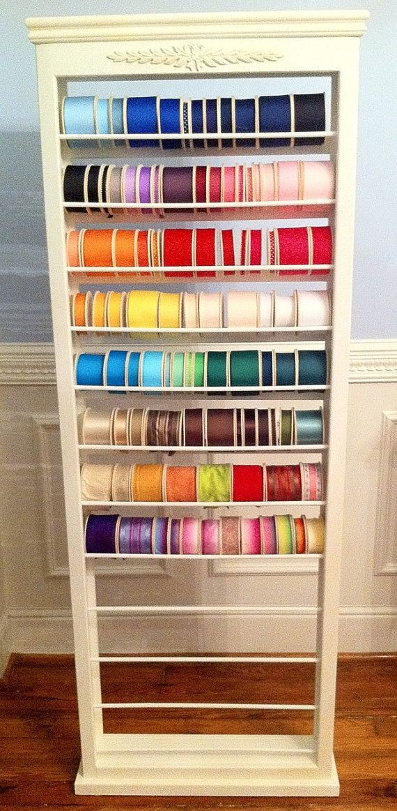 1000 Ideas About Ribbon Storage On Pinterest Ribbons