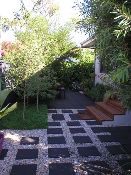 Completed courtyard - Perth