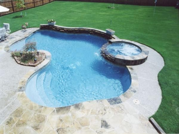 Anyone have kids that are begging for a backyard pool for 50000 pool design