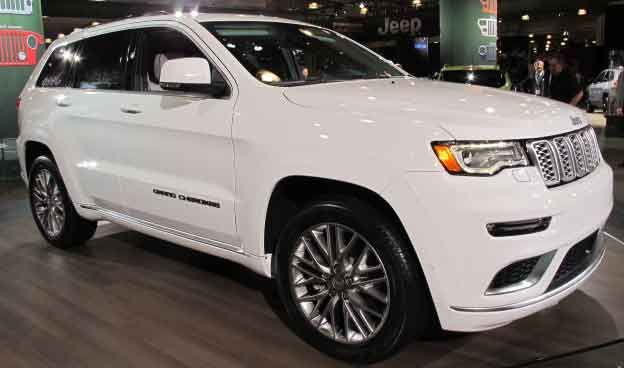 2017 Jeep Grand Cherokee Summit Specs Price Release date