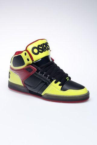 Osiris Skateboard Shoes Troma White/Black/Horror Show, número de zapato:33