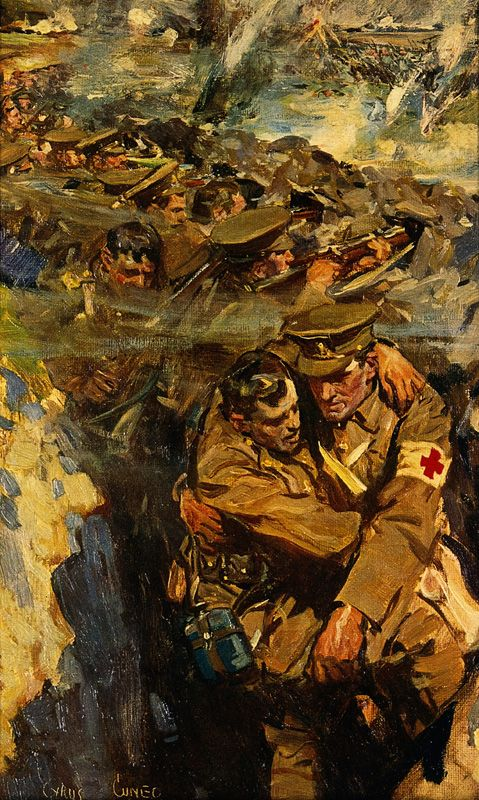 World War I: The Red Cross in the trenches (full-size) - Wellcome Collection