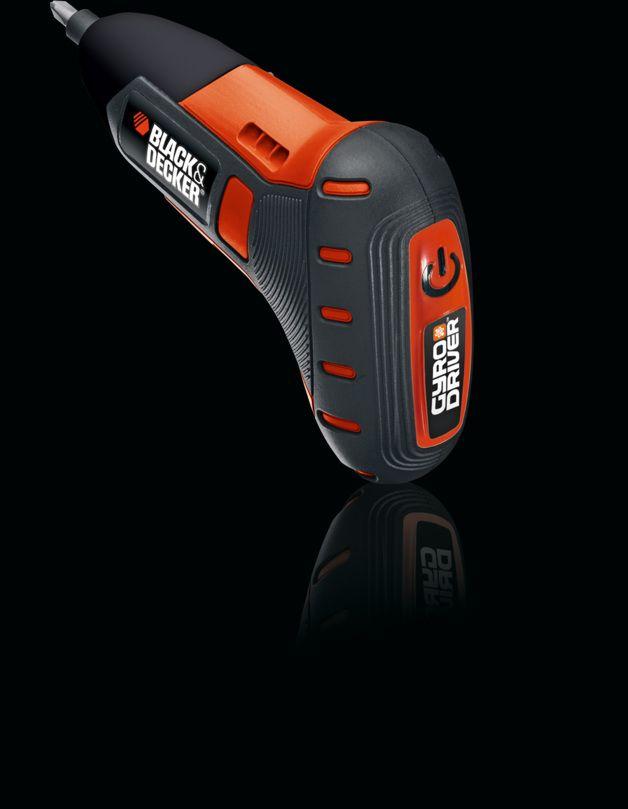 Black & Decker Gyro Driver™ - 2013 | work | Red Dot Award: Product Design