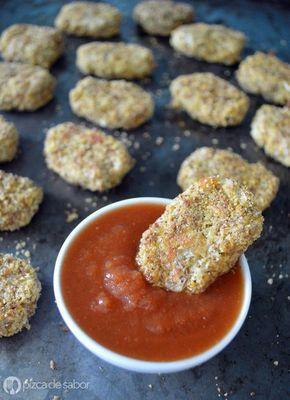Una deliciosa opción vegetariana de los clásicos nuggets de pollo. Aprende con esta receta paso a paso, te van a encantar! Ideal para los niños y grandes.