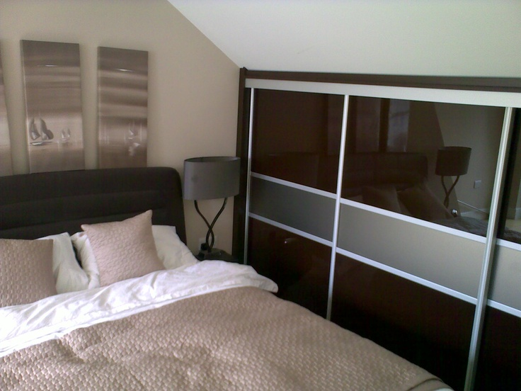 1000 images about sliding door wardrobes on pinterest for Eaves bedroom ideas