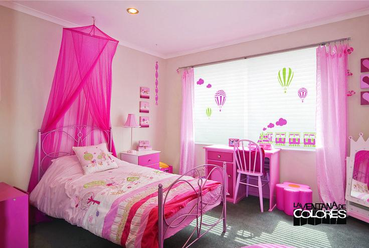 17 mejores ideas sobre dormitorios color magenta en - Estores habitacion infantil ...