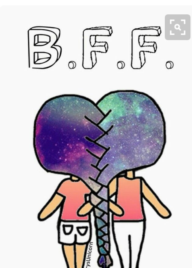 25 best BFF BEST FRIENDS FOREVER images on Pinterest  Drawings