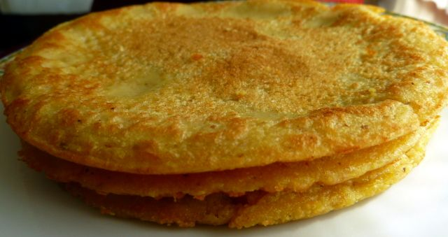 Chickpea Mini Tortillas