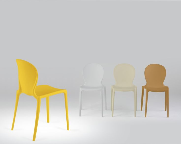 Musa chair by Softline1979.com - available in various colours!  incl Yellow  www.dotorangedesign.com