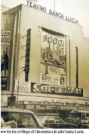 El Teatro Santa Lucía fue construido por el arquitecto Eduardo Valdés Freire, gracias a un encargo de la Caja de Ahorro del Salitre, se inauguró el 2 de mayo de 1937.