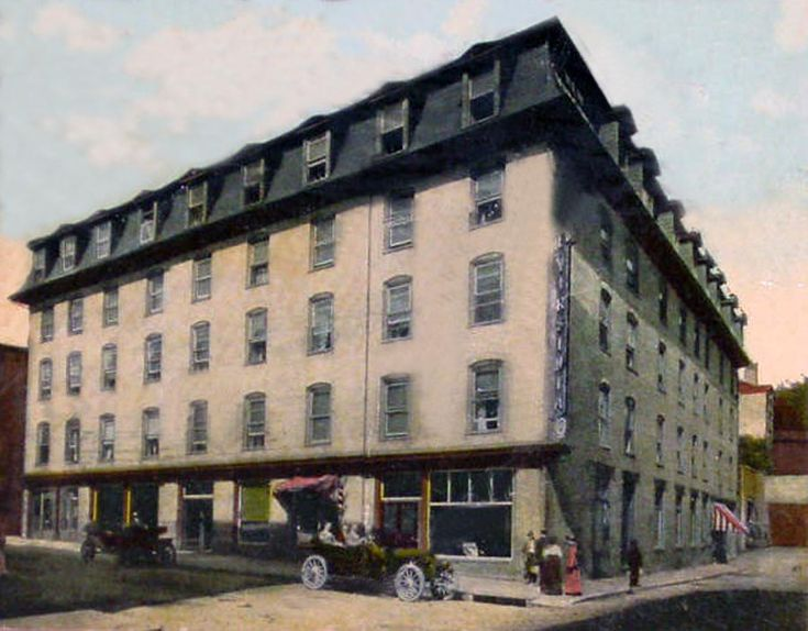 The Virginia Hotel Located On Greenville Ave At Intersection With South New St