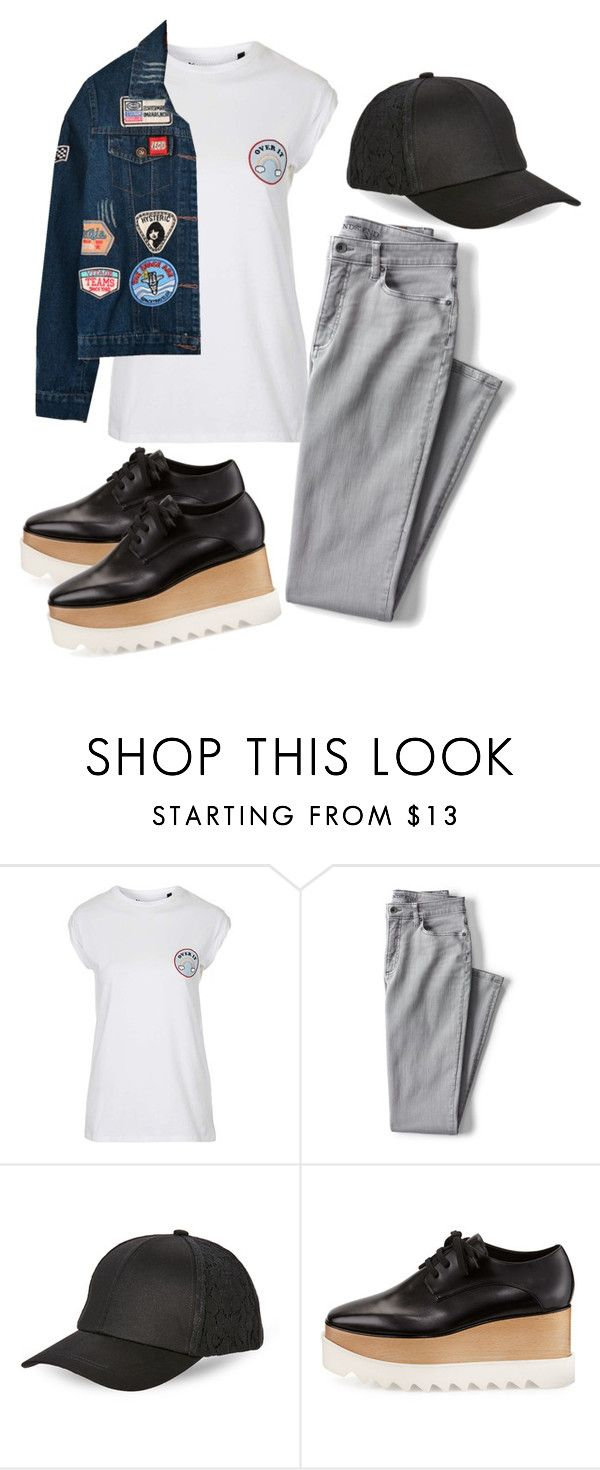 """Sin título #300"" by franciscagomezm on Polyvore featuring moda, Topshop, Lands' End, BCBGeneration, STELLA McCARTNEY y Chicnova Fashion"