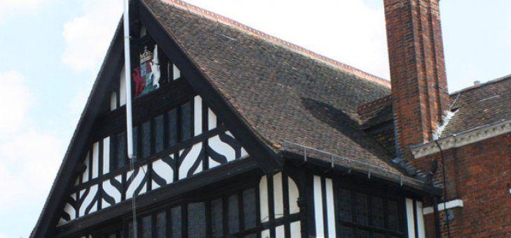 Saffron Walden Town Hall.  Saffron Walden, Essex. - A historical wedding venue full of history